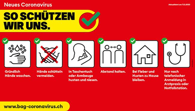 Newsbild Coronavirus