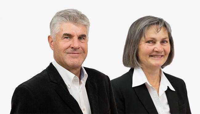 Pensionierung Jakob Mettler und Marianne Viher