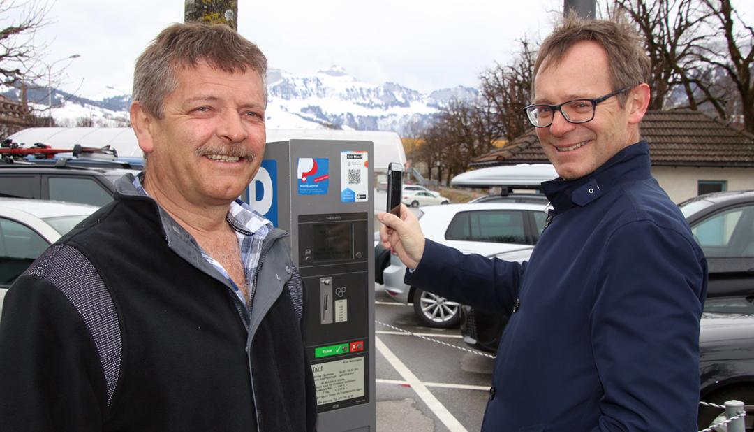 Newsbild TWINT Parking Appenzell gross